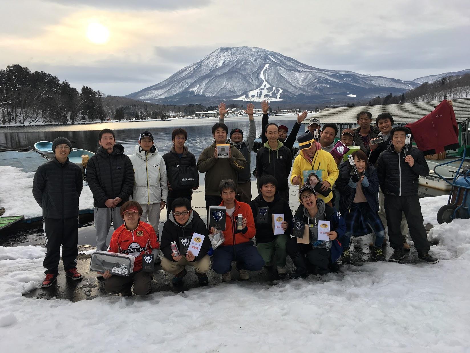 NBCわかさぎチャプター野尻湖第2戦 つり具のおおつか長野店CUP
