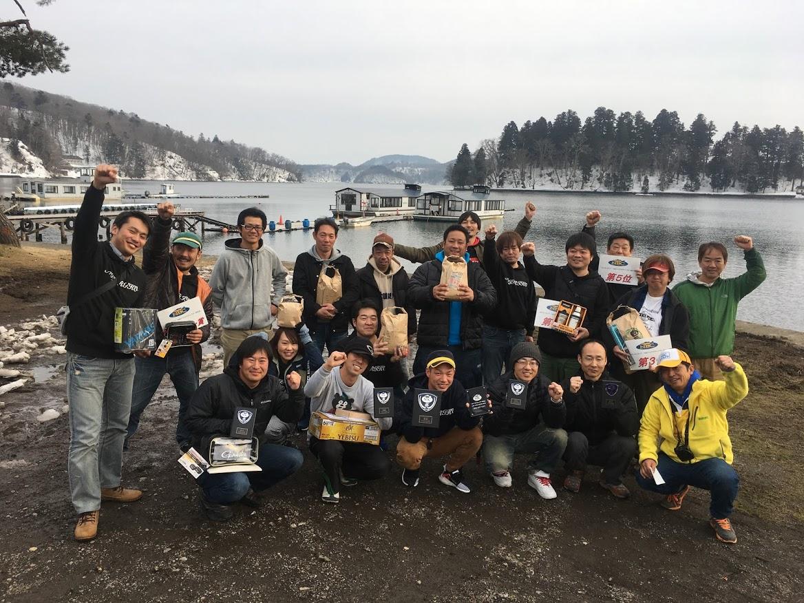 NBCわかさぎチャプター野尻湖第3戦 がまかつCUP
